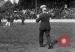 Image of Army versus Navy baseball in Anglo American Baseball League London England United Kingdom, 1917, second 53 stock footage video 65675072434
