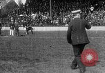 Image of Army versus Navy baseball in Anglo American Baseball League London England United Kingdom, 1917, second 54 stock footage video 65675072434