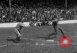Image of Army versus Navy baseball in Anglo American Baseball League London England United Kingdom, 1917, second 57 stock footage video 65675072434