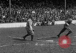 Image of Army versus Navy baseball in Anglo American Baseball League London England United Kingdom, 1917, second 58 stock footage video 65675072434