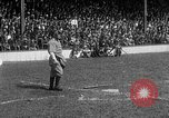 Image of Army versus Navy baseball in Anglo American Baseball League London England United Kingdom, 1917, second 59 stock footage video 65675072434