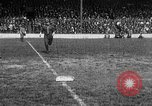 Image of Army versus Navy baseball in Anglo American Baseball League London England United Kingdom, 1917, second 62 stock footage video 65675072434