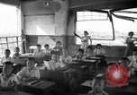Image of school children in Hiroshima after atomic bomb Hiroshima Japan, 1946, second 4 stock footage video 65675072452
