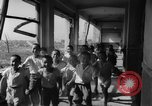 Image of school children in Hiroshima after atomic bomb Hiroshima Japan, 1946, second 39 stock footage video 65675072452