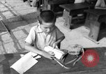 Image of school children in Hiroshima after atomic bomb Hiroshima Japan, 1946, second 49 stock footage video 65675072452