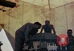 Image of Final arming of first nuclear bomb for Trinity nuclear test Alamogordo New Mexico USA, 1945, second 4 stock footage video 65675072462