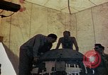 Image of Final arming of first nuclear bomb for Trinity nuclear test Alamogordo New Mexico USA, 1945, second 6 stock footage video 65675072462