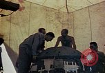 Image of Final arming of first nuclear bomb for Trinity nuclear test Alamogordo New Mexico USA, 1945, second 7 stock footage video 65675072462
