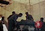 Image of Final arming of first nuclear bomb for Trinity nuclear test Alamogordo New Mexico USA, 1945, second 8 stock footage video 65675072462