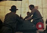 Image of Final arming of first nuclear bomb for Trinity nuclear test Alamogordo New Mexico USA, 1945, second 22 stock footage video 65675072462