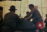 Image of Final arming of first nuclear bomb for Trinity nuclear test Alamogordo New Mexico USA, 1945, second 23 stock footage video 65675072462