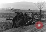Image of American gun crew firing 105mm howitzer Germany, 1945, second 7 stock footage video 65675072467