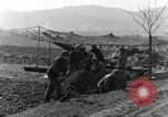 Image of American gun crew firing 105mm howitzer Germany, 1945, second 9 stock footage video 65675072467