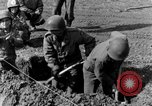 Image of American gun crew firing 105mm howitzer Germany, 1945, second 12 stock footage video 65675072467