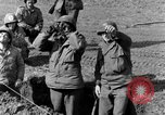 Image of American gun crew firing 105mm howitzer Germany, 1945, second 15 stock footage video 65675072467