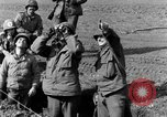 Image of American gun crew firing 105mm howitzer Germany, 1945, second 16 stock footage video 65675072467