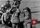Image of American gun crew firing 105mm howitzer Germany, 1945, second 17 stock footage video 65675072467