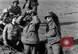 Image of American gun crew firing 105mm howitzer Germany, 1945, second 18 stock footage video 65675072467