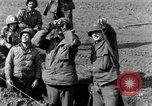 Image of American gun crew firing 105mm howitzer Germany, 1945, second 19 stock footage video 65675072467
