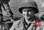 Image of American gun crew firing 105mm howitzer Germany, 1945, second 20 stock footage video 65675072467