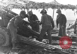 Image of American gun crew firing 105mm howitzer Germany, 1945, second 25 stock footage video 65675072467