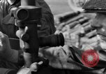 Image of American gun crew firing 105mm howitzer Germany, 1945, second 54 stock footage video 65675072467