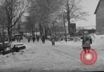 Image of United States infantry advance Saint Vith Belgium, 1945, second 15 stock footage video 65675072474