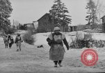 Image of United States infantry advance Saint Vith Belgium, 1945, second 28 stock footage video 65675072474