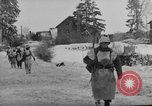 Image of United States infantry advance Saint Vith Belgium, 1945, second 29 stock footage video 65675072474