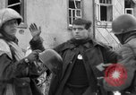 Image of United States infantrymen Saint Vith Belgium, 1945, second 18 stock footage video 65675072475