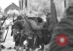 Image of United States infantrymen Saint Vith Belgium, 1945, second 23 stock footage video 65675072475