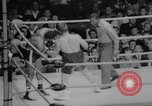 Image of boxing match Los Angeles California USA, 1967, second 9 stock footage video 65675072493