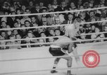 Image of boxing match Los Angeles California USA, 1967, second 16 stock footage video 65675072493