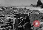 Image of French Armor and Artillery Algeria, 1954, second 36 stock footage video 65675072494