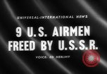 Image of United States airmen West Germany, 1958, second 4 stock footage video 65675072510