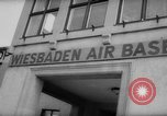 Image of United States airmen West Germany, 1958, second 7 stock footage video 65675072510