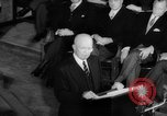 Image of Dwight D Eisenhower Ottawa Ontario Canada, 1958, second 43 stock footage video 65675072511