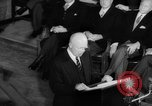 Image of Dwight D Eisenhower Ottawa Ontario Canada, 1958, second 44 stock footage video 65675072511