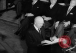 Image of Dwight D Eisenhower Ottawa Ontario Canada, 1958, second 49 stock footage video 65675072511