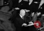 Image of Dwight D Eisenhower Ottawa Ontario Canada, 1958, second 50 stock footage video 65675072511