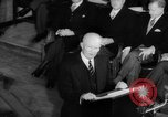 Image of Dwight D Eisenhower Ottawa Ontario Canada, 1958, second 53 stock footage video 65675072511