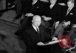 Image of Dwight D Eisenhower Ottawa Ontario Canada, 1958, second 56 stock footage video 65675072511