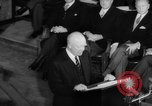 Image of Dwight D Eisenhower Ottawa Ontario Canada, 1958, second 59 stock footage video 65675072511