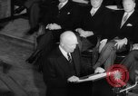 Image of Dwight D Eisenhower Ottawa Ontario Canada, 1958, second 62 stock footage video 65675072511