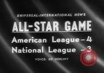 Image of Major League Baseball 25th All Star Game Baltimore Maryland USA, 1958, second 1 stock footage video 65675072512