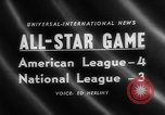 Image of Major League Baseball 25th All Star Game Baltimore Maryland USA, 1958, second 2 stock footage video 65675072512