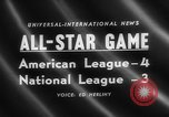 Image of Major League Baseball 25th All Star Game Baltimore Maryland USA, 1958, second 4 stock footage video 65675072512