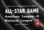 Image of Major League Baseball 25th All Star Game Baltimore Maryland USA, 1958, second 5 stock footage video 65675072512