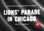 Image of Lions Clubs International parade Chicago Illinois USA, 1958, second 5 stock footage video 65675072516