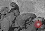 Image of German prisoners guarded by US MPs during World War II Periers France, 1944, second 21 stock footage video 65675072547